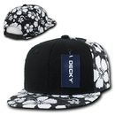 Decky 1067 Solid Front Floral Snapbacks
