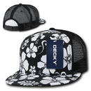 Decky 1068 Floral 5 Panel Trucker Caps