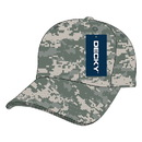 Decky 217 Low Crown Camo Baseball Caps