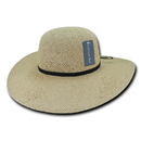 Lunada Bay L004 Style LM, Paper Braid Hat, Natural
