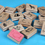 GOGO Wooden Zoo Animal Stamper Kit, Set of 16, Stationery Gift for Kids