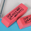 "GOGO Extra Large Erasers, 6"" x 2"" x 0.5"", 4 Colors, Stationery Gift for Kids"
