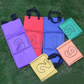 GOGO Number Potato Sacks / Woven Jumping Bags, Set of 6, Outdoor Toys, Price/SET