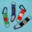 GOGO Carabiner Key Chains, Gift for Kids