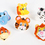 GOGO Cute Animal Adjustable Finger Rings, Accessories for Kids