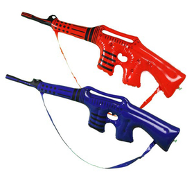 GOGO Inflatable Infantry Firearm, Inflatable Toys, Great Gift For Boys, Price/ONE DOZEN