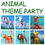 GOGO Inflatable Zoo Animals, Set of 6, Party Suppliers, Christmas Gift Idea