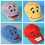 GOGO Funny Smile Face Baseball Caps, Price/SINGLE PIECE