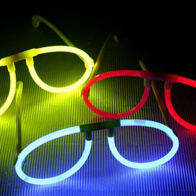 GOGO Glow Eyeglasses Assortment, Party Suppliers, Christmas Gift, Price/ONE DOZEN