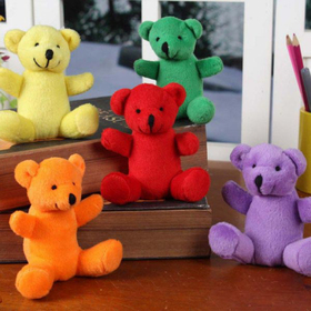 GOGO Little Plush Bears, Christmas Gift, Price/ONE DOZEN