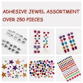 GOGO Adhesive Jewel Assortment, Christmas Gift