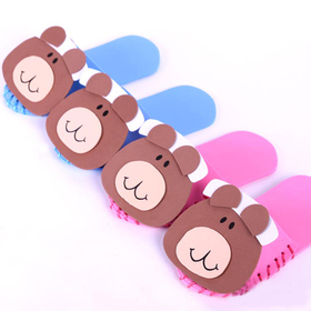 GOGO Design Your Own! Lovely Bear Slippers, Christmas Gift, Price/12 PARIS
