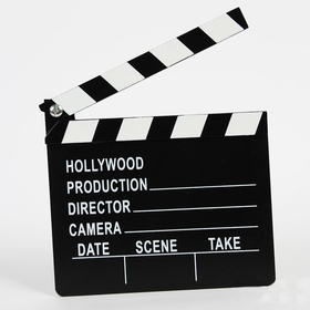 GOGO Director's Clapboard, Party Favor, Christmas Gift, Price/SINGLE PIECE