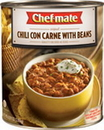 Chef-Mate 340882 Original Chili Con Carne With Beans 6 X 107 Ounces
