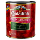 Contadina 395014 Diced Tomatoes In Juice 6/102Oz Cans