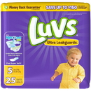 Luvs 586930 Diaper Jumbo Pack Size 5 4-25 Count