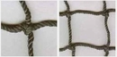 Douglas 36099 #96 Twisted Knotted Nylon Black 1-3/4
