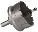 "Qualtech 2-3/8"" Carbide Tipped Hole Cutter, 1"" Depth of Cut, CTH2375"