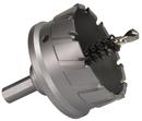 "Qualtech 2-1/2"" Carbide Tipped Hole Cutter, 1"" Depth of Cut, CTH2500"