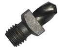 Drill America TSD20VS #20 Cobalt Very Stubby Threaded Shank Drill Bit, Overall Length 3/8