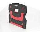 Aidata NS011BR Laptop/Tablet Riser (Black/Red)