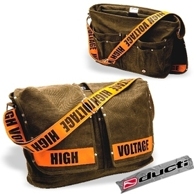 Ducti 10309OE High Voltage Utility Messenger PC Bag