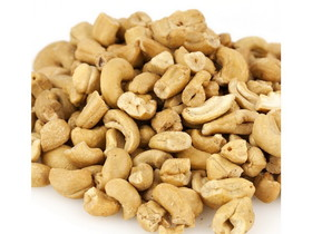 Wricley Nut Cashew Pieces Large (Roasted & No Salt) 25lb, Price/Each