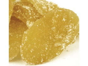 Imported 4/11lb Ginger Slice Crystallized, Price/Case