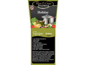 Bulk Foods 4/5lb Holiday Soup Mix, Price/Case
