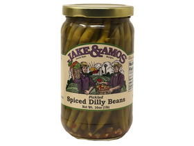 Jake & Amos 12/16oz J&A Spiced Dilly Beans, Price/Case