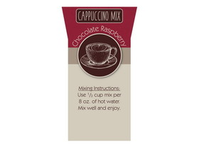 Bulk Foods 2/5lb Chocolate Raspberry Cappuccino, Price/Case