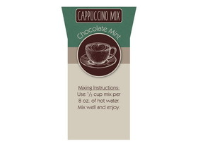 Bulk Foods 2/5lb Chocolate Mint Cappuccino, Price/Case