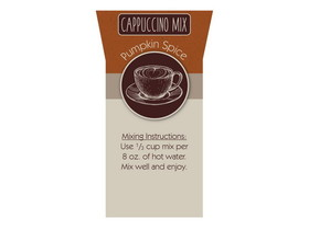 Bulk Foods Inc. Cappuccino, Pumpkin Spice 2/5lb, Price/Case
