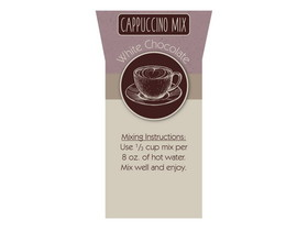 Bulk Foods 2/5lb White Chocolate Cappuccino, Price/Case