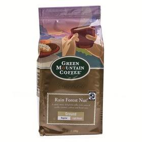 Green Mountain Coffee 6/12oz Ground Coffee Rain Forest Nut, Price/Case