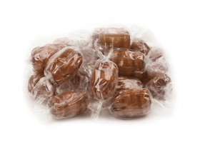 Primrose Candy 10lb Root Beer Barrels Clear Wrap, Price/Case