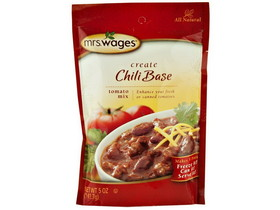 Mrs. Wages Chili Base Mix 12/5oz, Price/Case