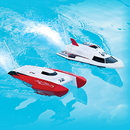 Dunn Rite RC3352 PoolRacer Remote Control Boats - Pool Racer II