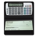 Datexx DB-413 - Checkbook calculator-tracks latest Savings, Checking, Credit financial entries