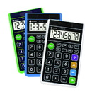 Datexx DH-62 - Hybrid Wallet Calculator 3 color assorted