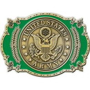 "Eagle Emblems BUCKLE-ARMY, US (3-1/2"")"