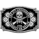 Eagle Emblems B0103 Buckle-2Nd Amendment (3-1/4