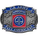 Eagle Emblems B0104 Buckle-Army, 082Nd A/B (3-1/8