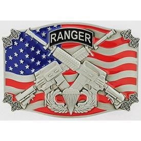 "Eagle Emblems BUCKLE-ARMY, A/B-RANGER (3"")"