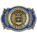Eagle Emblems B0115 Buckle-Usaf Emblem (3-1/8