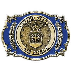 "Eagle Emblems BUCKLE-USAF, II (3-1/4"")"