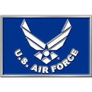 Eagle Emblems B0116 Buckle-Usaf Symbol (3-1/4