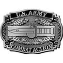 Eagle Emblems B0118 Buckle-Army, Cab Ii (3-1/8