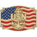 Eagle Emblems B0120 Buckle-Usn Anchor (3