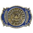 Eagle Emblems B0121 Buckle-Usn Logo (3-1/8